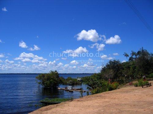 Rio Negro and rain forest