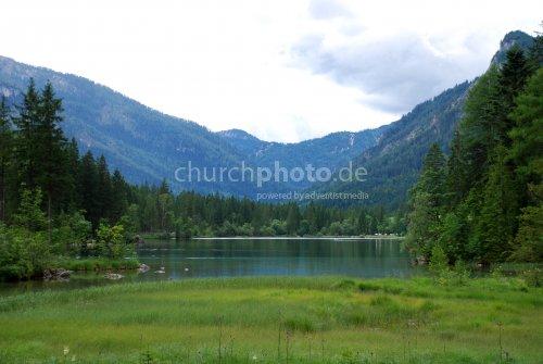 Der Hintersee im Berchtesgadener Land
