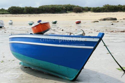 Gestrandete Boote