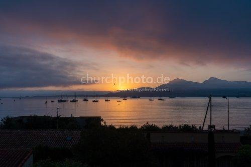 Sonnenaufgang in Calvi