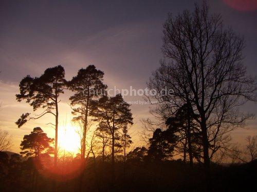 Sonnenuntergang warm