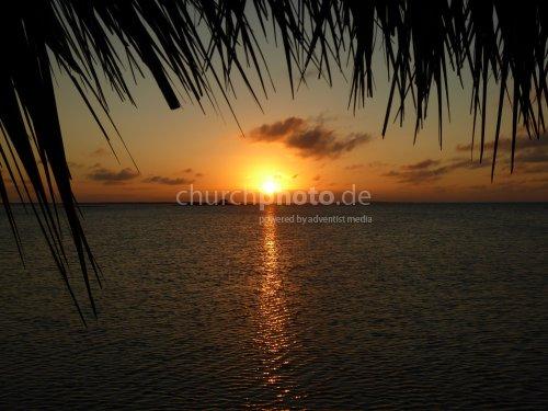 Sonnenuntergang Cuba