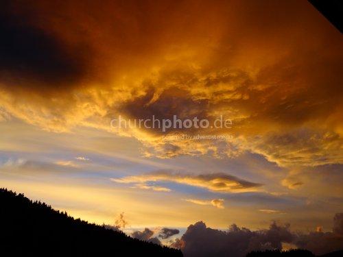 Abendhimmel - evening sky