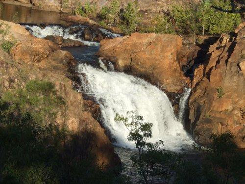 Wasserfall im Australischen Busch