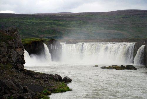 Goðafoss Wasserfall