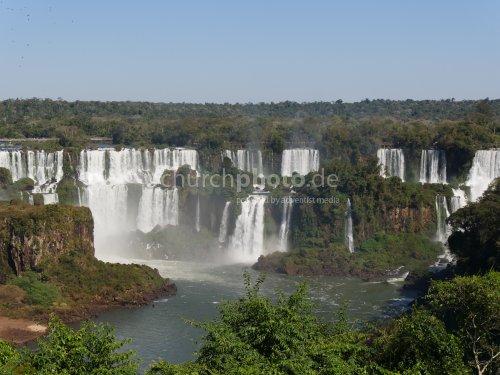 Rio Iguaçú, Foz do Iguaçu, Brasilien