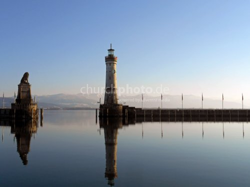 Hafeneinfahrt Lindau am Bodensee