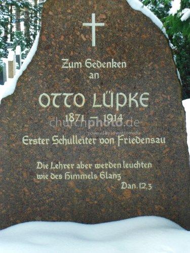Gedenkstein von Otto Lüpke
