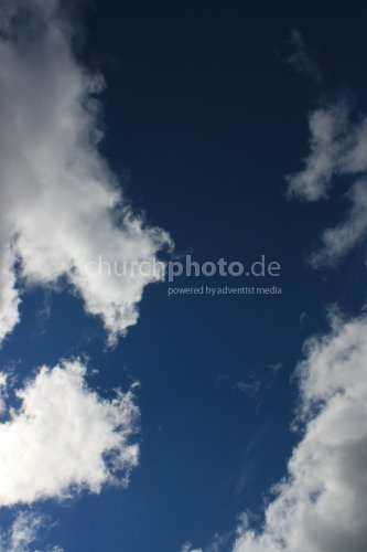 Himmel, blau