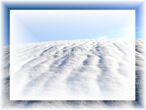 Background Schneehügel