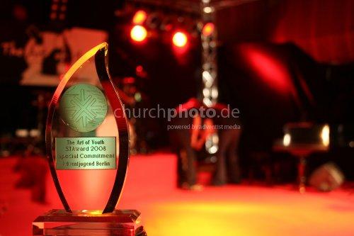 STAwards 2008 Trophy