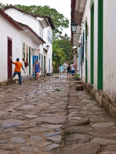 Small lane in Paraty