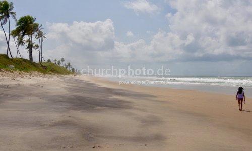 Traumstrand bei Salvador da Bahia/Brasilien