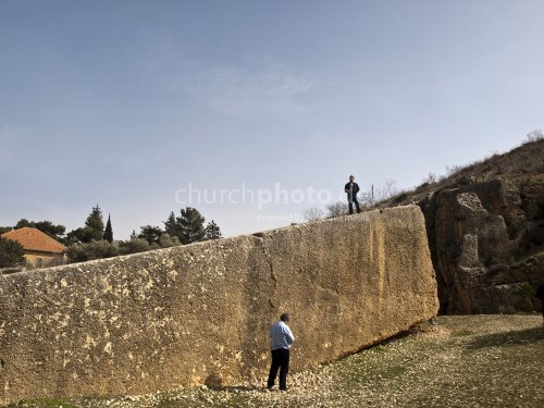 Roman quarry near Heliopolis (Baalbek)