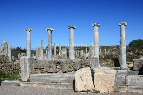 Ruins of Perge, Turkey