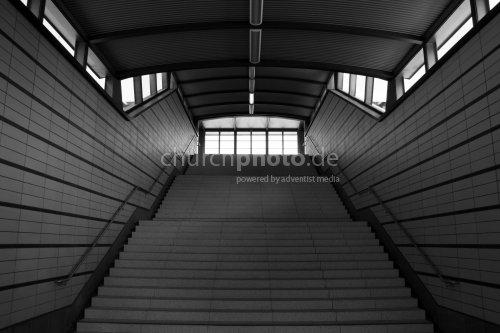 Stairway (b/w)