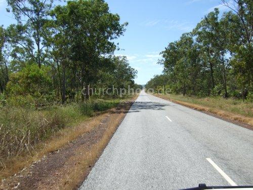 Australian Bush Road