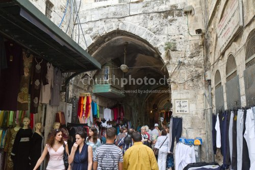 In the lanes of old Jerusalem