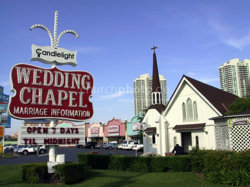 Wedding Chapel in Las Vegas