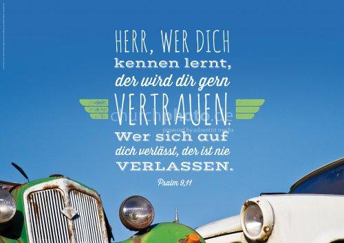 Vertrauen auf den Herrn