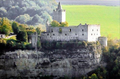 Bad Kösen - Rudelsburg