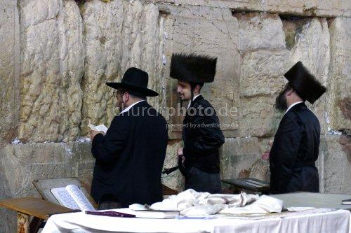 Beten an der Westmauer
