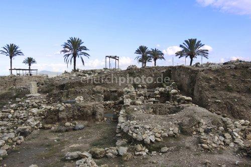 Archeology in Tell Megiddo, Israel