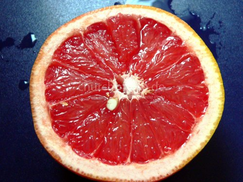 Grapefruit-Scheibe