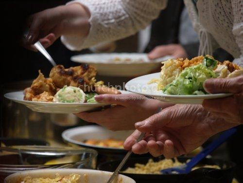 Sharing food