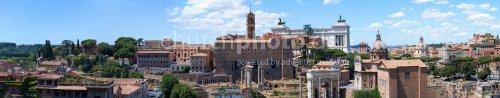 Panorama Forum Romanum