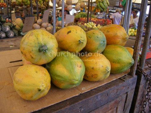 Fruit market in Belém