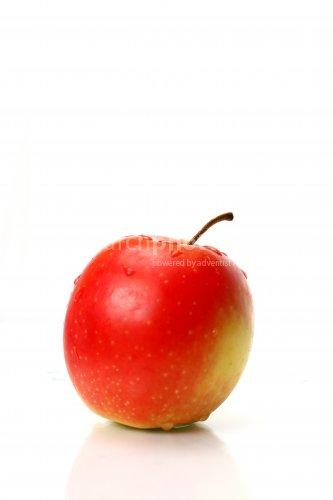 Ein frischer Apfel