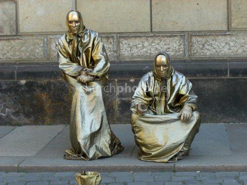 Lebende Statuen