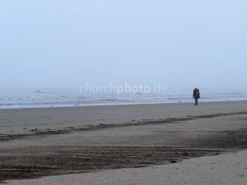walk in fog
