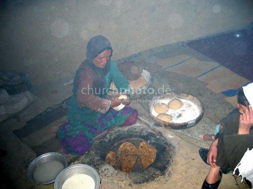 Baking in Afghanistan