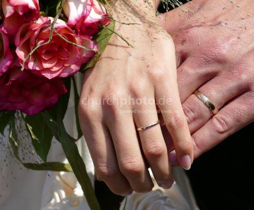 Brautpaar-Hände