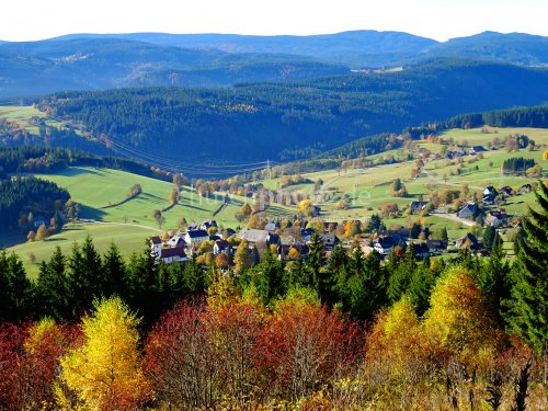 Die Herbstlandschaft - autumn country side