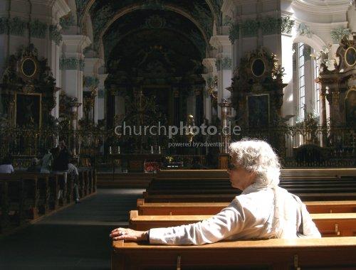Katholische Andacht