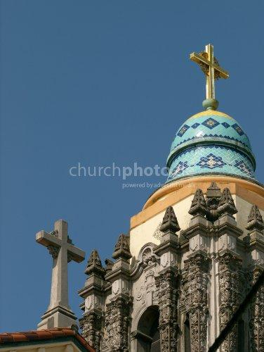 Decorated spire