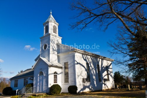 American church building
