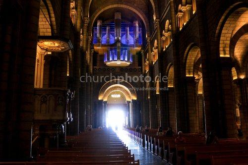 Licht in der Kathedrale von Monaco