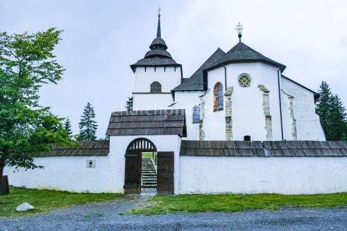 Kirche in weiß