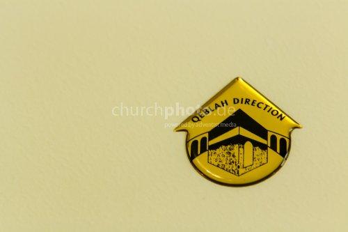 Gebetsrichtung - Direction for prayer